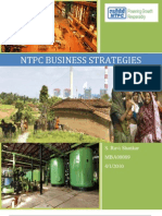 NTPC Business Strategies
