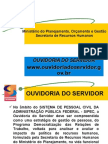 Ouvidoria do Servidor - SRH[2]