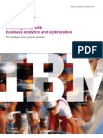 Breaking Away With Business Analytics & Optimization