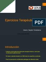 Ejercicios Terapéuticos GH - Escapulo toracica