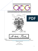 Beschreibung Des QEG (Quantum Electric Generator)