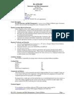 UT Dallas Syllabus for ba4354.001.10s taught by   (dmc012300)