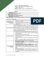 UT Dallas Syllabus for aim6384.501.10s taught by Jeffrey Kromer (jrk013000)