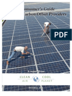A Consumer's Guide to Retail Carbon Offset Providers