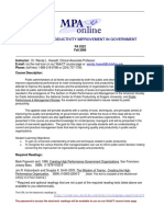 UT Dallas Syllabus for pa5323.0i1.08f taught by Wendy Hassett (wxh045000)