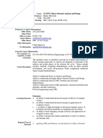 UT Dallas Syllabus for cs6359.501.08f taught by   (rxb080100)