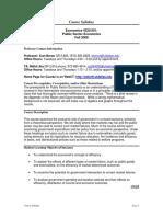UT Dallas Syllabus for econ4320.001.08f  taught by Kurt Beron (kberon)