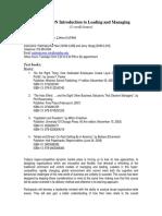 UT Dallas Syllabus for ba3345.hon.08f taught by Padmakumar Nair (pxn031000)