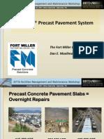 PreCast Pavement System