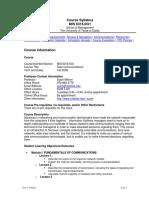 UT Dallas Syllabus for mis6316.0g1.08f taught by Syam Menon (sxm021300)