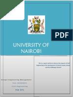 Fce 571 Report Narok