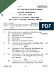 BEGE-105-EEG-05 IGNOU papers
