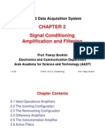 CC415 Chapter 2 Signal Conditioning