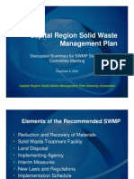 Powerpoint from Dec SWMP Steering Committee Meetings