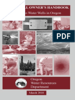 Oregon Water Well Booklet 2010
