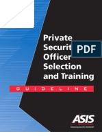 Asis Guidelines for Pso