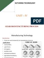 u iva  gear manufacturing process