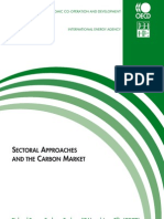 Sectoral Approaches and the Carbon Market