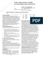UT Dallas Syllabus for psy4346.001.08f taught by Malcolm Housson (housson)