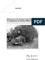 Making Sense of the Voluntary Carbon Market. A Comparison of Carbon Offset Standards