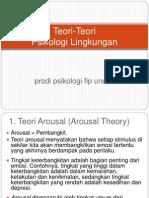 3. Teori-Teori Psi Lingkungan