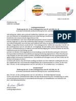 Gesetzentwurf grenzüberschreitende Gesundheitseinrichtungen und Beschluss des DreierLandtages