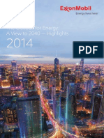 2014 Outlook for Energy Highlights