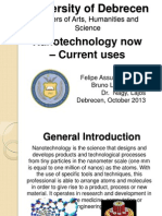 Nanotechnology now – Current uses
