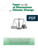 White Paper on the Ethical Dimensions of Climate Change