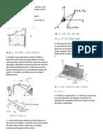 Lista p2 Mecânica geral