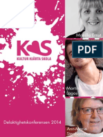 KulturHjärtaSkola Program 2014_komplett