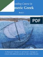 A Reading Course in Homeric Greek, Book 1 - Raymond v. Schoder