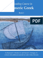 A Reading Course in Homeric Greek, Book 1 - Raymond v. Schoder