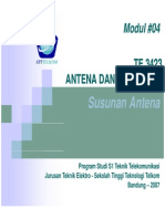 TE3423 4 Susunan Antena