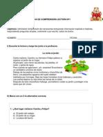 Fichas de Lectura Abril Mariela
