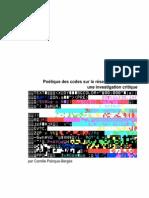 Poétique Des Codes Sur Le Reseau Informatique