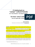 RODRIGUES, Helenice - O Intelectual No Campo Cultural Francês