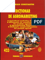 Un Dictionnaire d'Agro-marketing