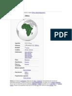 África continente