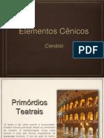 ELEMENTOS CÊNICOS
