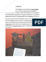 Morse Telegraphs