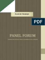 Plan Panel Forum