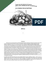Bach Biodynamic Calendar 2014