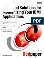 Modernizing IBM i Applications
