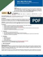 Ficha Técnica - Argamassa MATRIX 5201