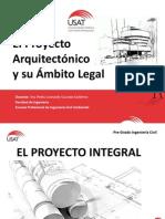 El Proyecto Arquitectónico y El Ámbito Legal