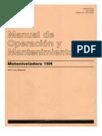 Manual de Operación y Mantenimiento CAT 16H