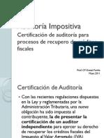 02.0 Certificación de Auditoría Impositiva RG 53_11