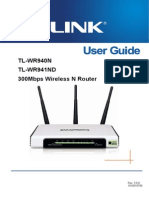 Tl-wr941nd v5 User Guide 19100