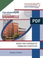 Manual de Elaboração de Trabalhos Científicos